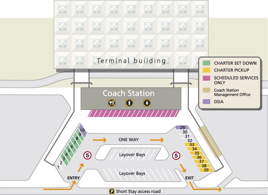 Stansted Airport Coach Station Map Stansted Pick Up Guide